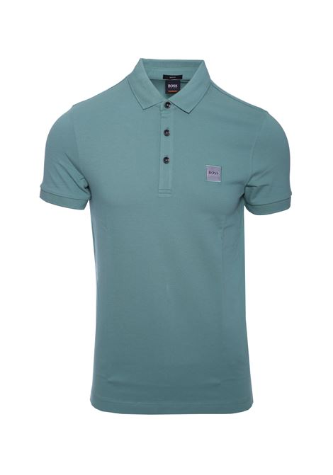 Slim-fit polo shirt in stretch cotton piqué BOSS | Polo Shirts | 50378334345