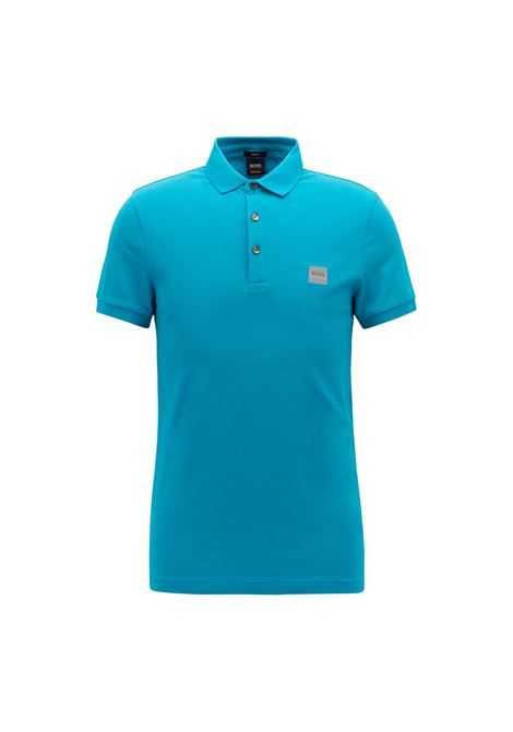Slim-fit polo shirt in stretch cotton piqué BOSS | Polo Shirts | 50378334491