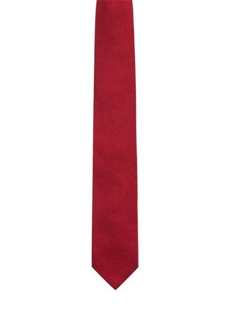 Cravatta in seta con lavorazione jacquard HUGO BOSS | Cravatte | 50384008622
