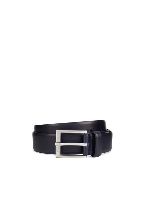 Cintura in pelle liscia. BOSS | Cinture | 50389781401