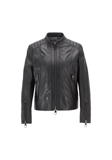 Giubbotto biker regular fit HUGO BOSS | Giubbini | 50400790001