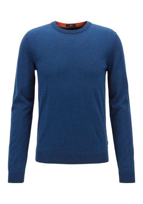 Maglione slim fit in cotone. HUGO BOSS HUGO BOSS | Maglie | 50403704402