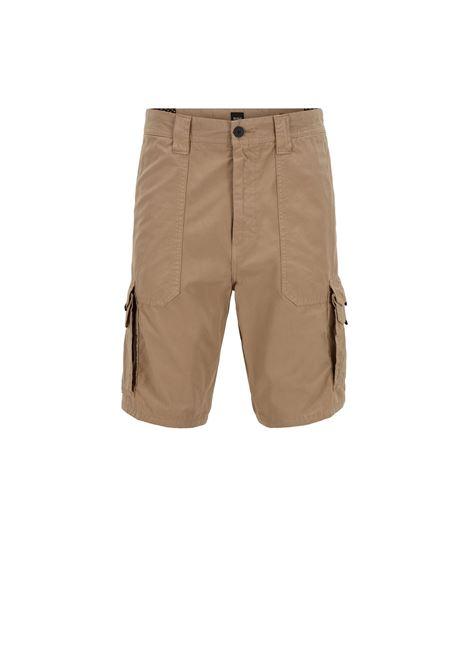 Pantaloncini tapered fit con tasche doppie. BOSS | Bermuda | 50403768263