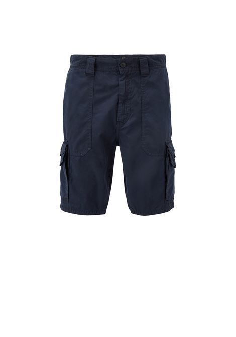 Pantaloncini tapered fit con tasche doppie. HUGO BOSS | Bermuda | 50403768404