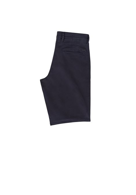 96eef916f Slim-fit chino shorts in double-dyed stretch satin BOSS | | 50403772404