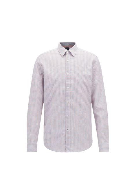 Camicia regular fit in cotone. HUGO BOSS | Camicie | 50404105814