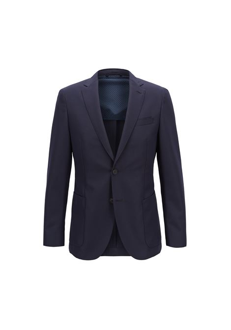 Giacca slim fit Travel Line in misto lana. HUGO BOSS | Giacche | 50404374480