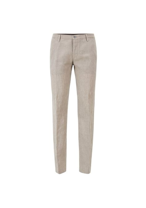 Pantaloni slim fit in lino. BOSS | Pantaloni | 50404395102