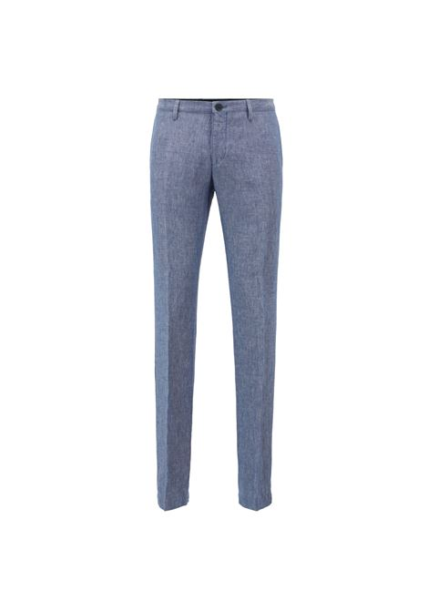 Pantaloni slim fit in lino. BOSS | Pantaloni | 50404395450