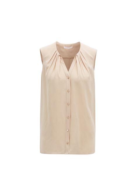 Sleeveless silk blouse BOSS |  | 50404990281