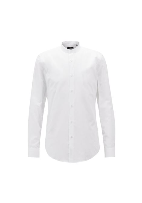 Camicia in misto cotone-lino italiano. HUGO BOSS HUGO BOSS | Camicie | 50405145100