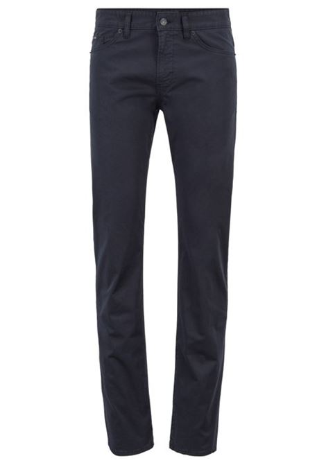 Jeans slim fit in denim effetto satin BOSS | Jeans | 50405333402