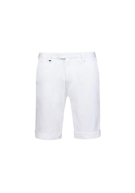 Pantaloncini slim fit in cotone elasticizzato. HUGO | Pantaloni | 50405852100