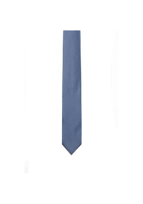 Cravatta in pura seta jacquard con microdisegni. HUGO BOSS | Cravatte | 50406068459