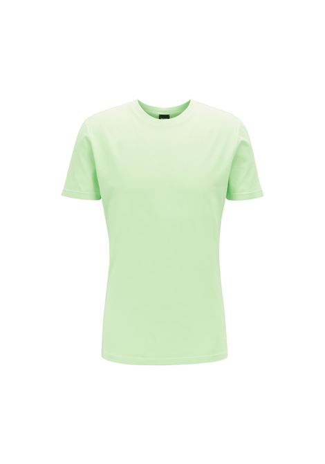 T-shirt a girocollo in jersey di cotone BOSS | Maglie | 50406186329