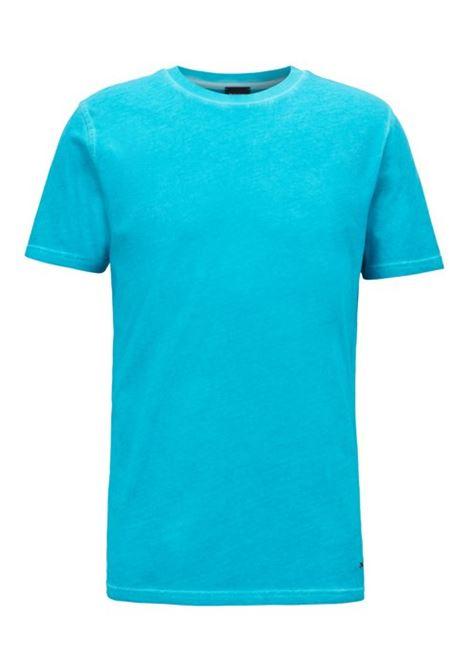 T-shirt a girocollo in jersey di cotone BOSS | Maglie | 50406186454