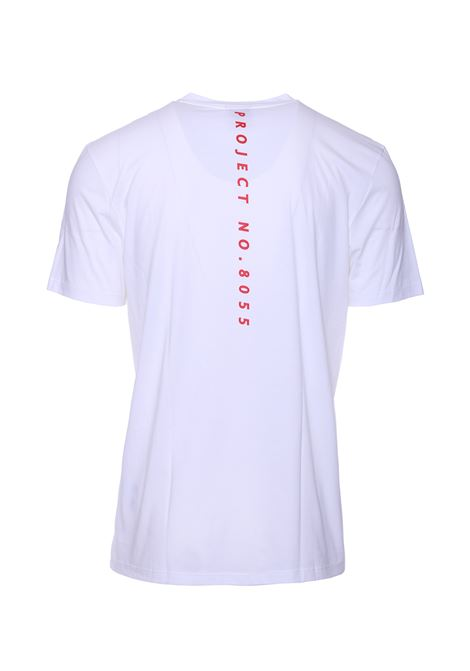 T-shirt slim fit con stampa rossa BOSS   T-shirt   50407014100