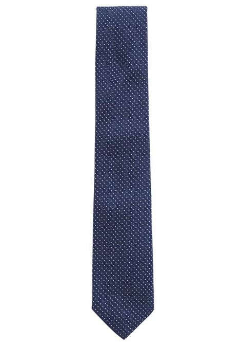 Micro-dot tie in silk jacquard. Hugo Boss HUGO BOSS |  | 50407068480