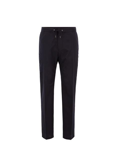Pantaloni tagliati slim fit con coulisse in vita. BOSS | Pantaloni | 50407341480