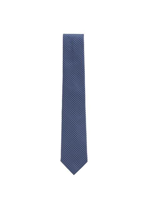 Cravatta misto seta con motivo a pois HUGO BOSS | Cravatte | 50407397484