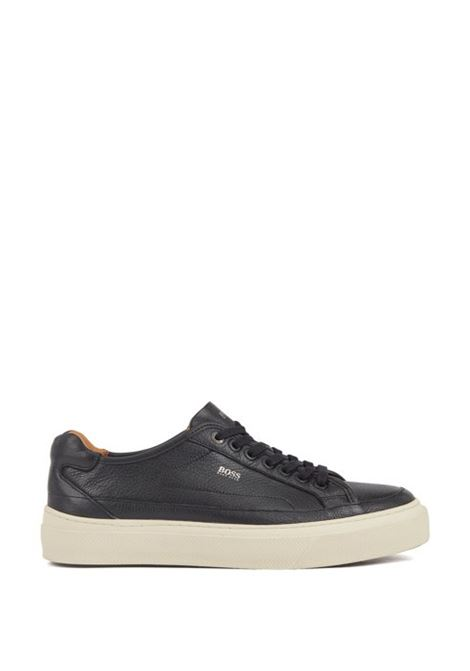 Sneakers in pelle di vitello suola monogrammata BOSS | Scarpe | 50407587001