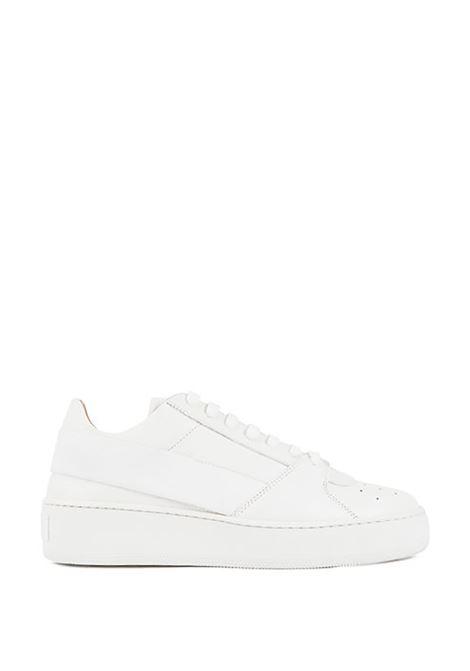 Sneakers in pelle low-top con fascia elastica e plateau BOSS | Scarpe | 50408173100