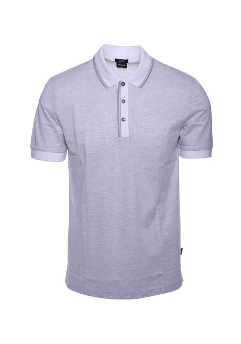 Slim fit polo shirt with two-tone seals BOSS | Polo Shirts | 50409052072