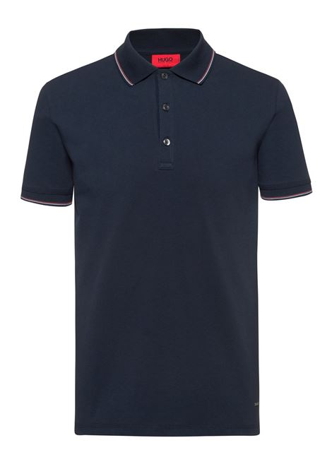 Slim-fit polo shirt in stretch-cotton piqué HUGO | Polo Shirts | 50409700405