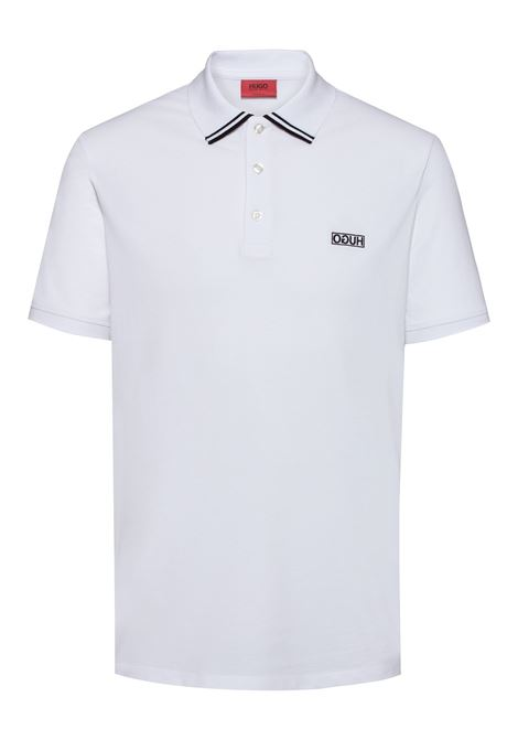Reverse-logo polo shirt in cotton piqué HUGO | Polo Shirts | 50410892100
