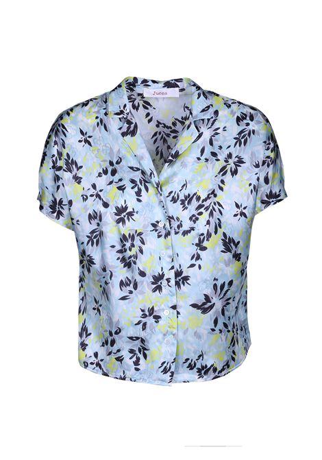 Camicia a fiori mezza manica. JUCCA | Camicie | J2912030/B1571