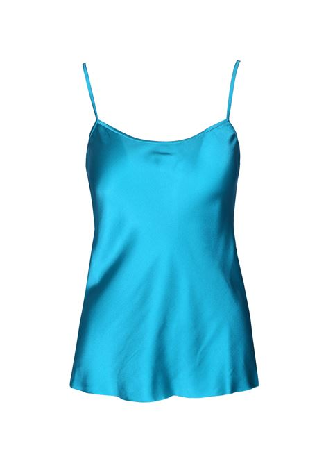 Top with shiny satin straps JUCCA | Tops | J2912116/L1574