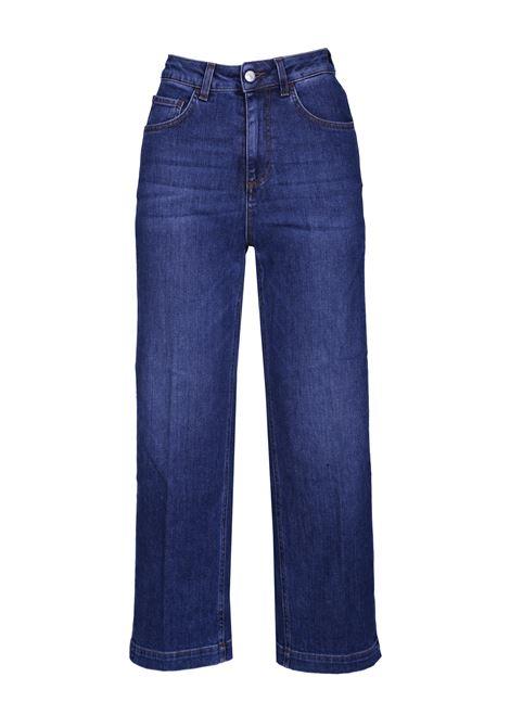 Pantaloni vita alta in denim. JUCCA | Pantaloni | J2914004/JL002L002PANNA