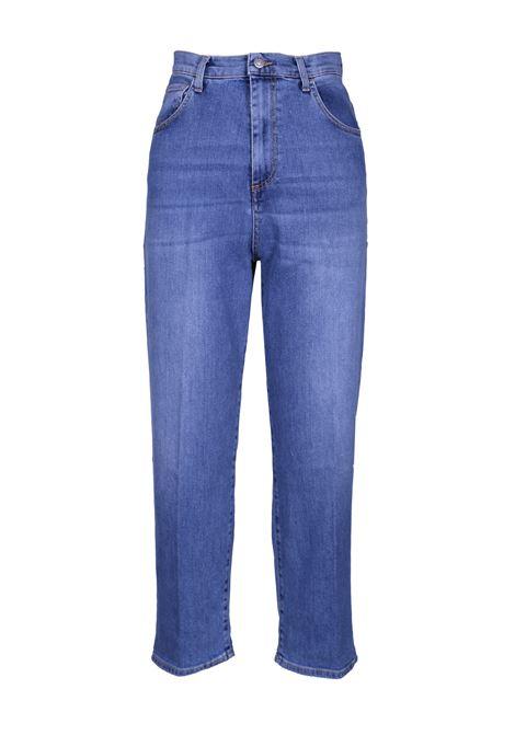 Pantaloni straight vita alta. JUCCA | Pantaloni | J2914006/JL001L001BATIDA