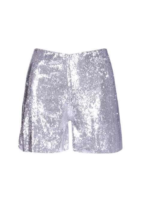 Shorts Silver in paillettes. JUCCA JUCCA | Shorts | J2914029210