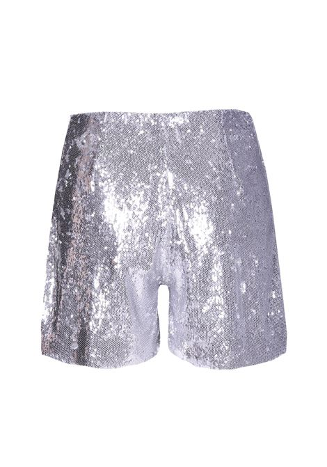 Silver sequined shorts JUCCA | Shorts | J2914029210
