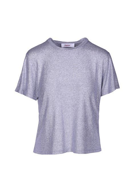 T-shirt girocollo laminata. JUCCA | T-shirt | J2918000210