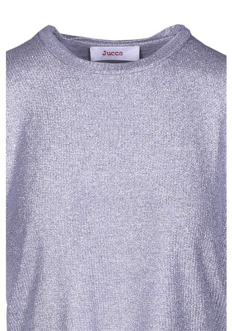 T-shirt girocollo laminata. JUCCA | Top & T-shirt | J2918000210