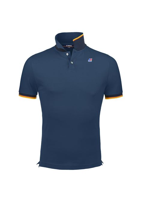 Polo vincent contrast. K-WAY | Polo | K008J50D33