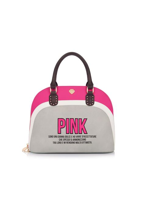 Borsa Rainbow Bag PINK Light Grey LE PANDORINE | Borse | DAJ02309-03
