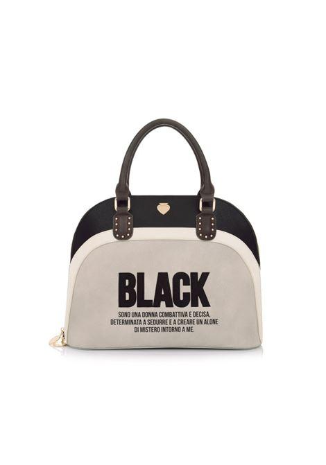 Borsa Rainbow Bag BLACK Taupe LE PANDORINE | Borse | DAJ0230902