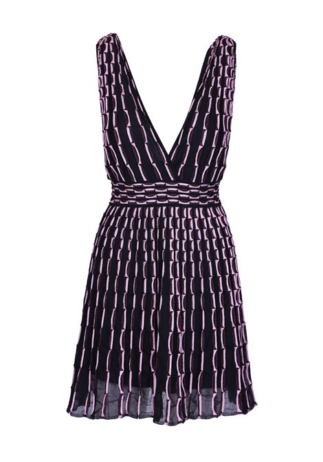 DRESS WITH EMBOSSED WORK. M.MISSONI M. MISSONI | Dresses | 2DG00029 2K0027L9034