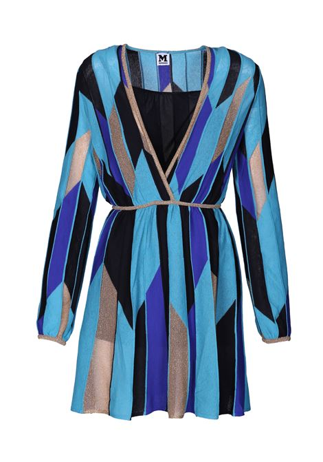 Dress with contrasting panels. M.MISSONI M. MISSONI | Dresses | 2DG00064 2K0021S7173