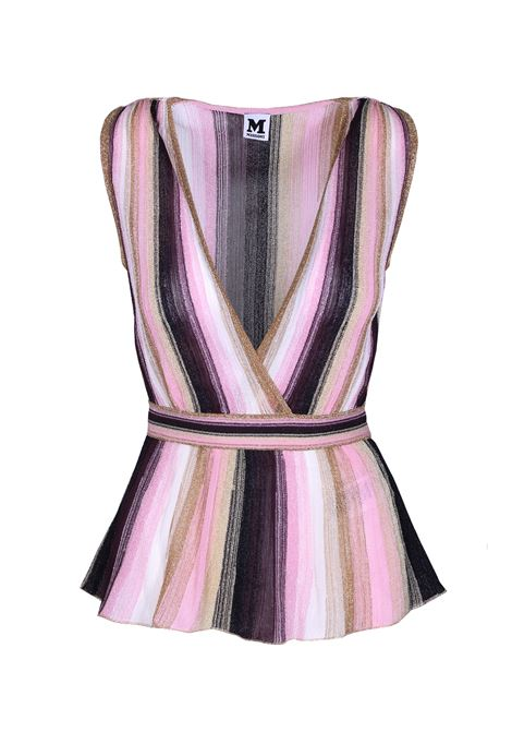 Striped top. M.MISSONI M. MISSONI | Top | 2DJ00027 2K0030L3030