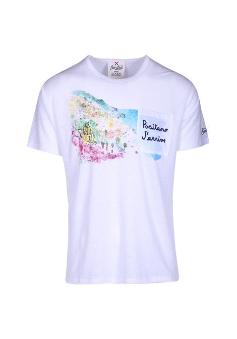 T-SHIRT UOMO MANICHE CORTE. MC2 SAINT BARTH | T-shirt | ECSTASEA01EMPT01