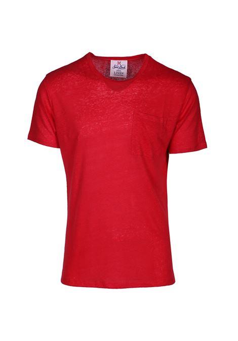 T SHIRT UOMO LINO MC2 SAINT BARTH | T-shirt | ecstasea41