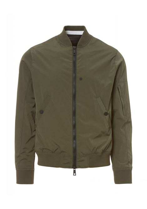 Solid color bomber PAOLO PECORA | Jackets | 0021 T5025719