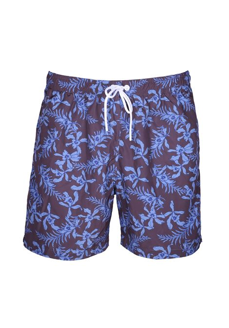 Floral pattern sea boxer PAOLO PECORA | Sweaters | 6003 T553S2Y1