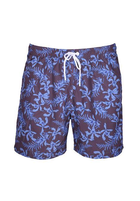 Floral pattern sea boxer PAOLO PECORA | Swimwear | 6003 T553S2Y1