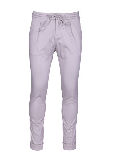 Trousers with central crease and drawstring PAOLO PECORA | Trousers | B111 04331237