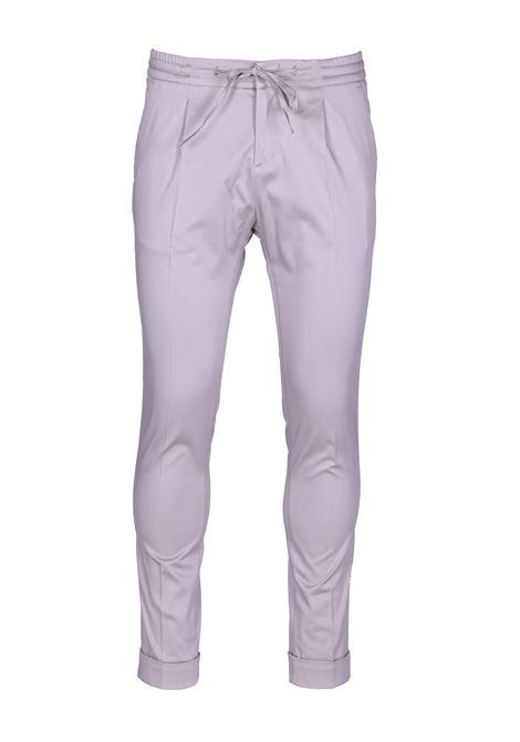Pantalone con piega centrale e coulisse PAOLO PECORA | Pantaloni | B111 04331237